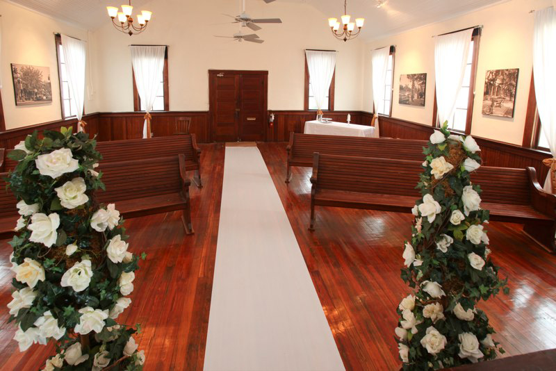 Winter Park Wedding Chapel Interior FL